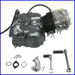 12V Lifan 140cc Pit Bike 4 Speed Engine Motor Replace 70cc 90cc 110cc 125cc 150c