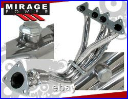 4-2-1 Stainless Exhaust Header/Manifold For 98-02 Honda Accord F23 4Cyl Cg L4