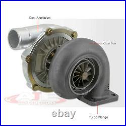 4 Bolt Flange T4 T04B Turbo Turbocharger Racing Engine Motor Oil Cooled Vband