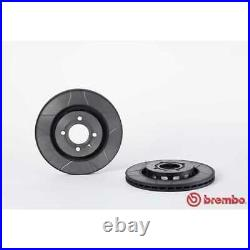 BREMBO 2x Bremsscheiben Geschlitzt Innenbelüftet beschichtet 09.6728.75