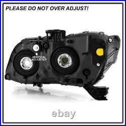Black Bezel Factory Style Replacement Headlight Lamp for 12 13 14 15 Honda Civic