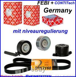 CONTI 6PK2160+Keilrippenriemensatz+CONTI Wasserpumpe 5 E60 E61 7 E65 E66 E67