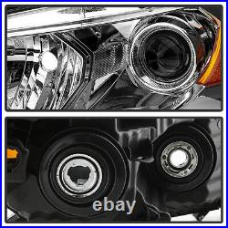 Chrome Replacement Projector Headlight Signal Lamp For 08-12 Honda Accord Coupe