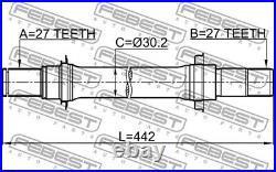 Drive Shaft For Honda Acura Accord IX Saloon Cu Cr R20z2 Accord VII CM Febest
