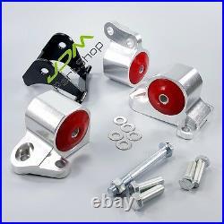 Engine Swap Mounts Kit for 96-00 Honda Civic B-Series 1.6L B16 B17 B20 /D15 D16