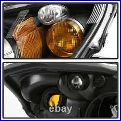 For 04-09 Honda S2000 S2K AP2 HID/Xenon Replacement Projector Headlight Black