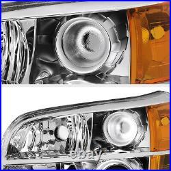 For 06-08 Honda Pilot EX LX Left Right Projector Headlight Assembly Headlamp L+R