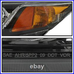For 12-15 Honda Civic Factory Style Replacement Headlight Lamp Pair Left+Right