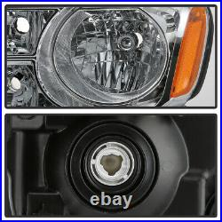 For 12-15 Honda Pilot Headlight LH+RH Side Replacement Front Driving Signal Lamp