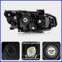 For 16-21 Honda Civic Factory Style Direct Replacement Projector Headlight Black