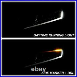 For 18-20 Honda Accord Halogen Type LED Headlight L+R Replacement Driving Lamp