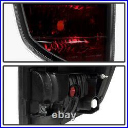 For 2006 2007 2008 Honda Ridgeline Smoked Red Brake Taillights Tail Lamp LH+RH