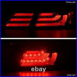 For 2013-2015 Honda Accord 4D Sedan FACTORY LED MODEL Neon Tube 4PC Tail Light