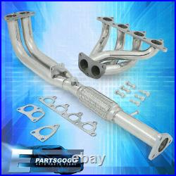 For 92-96 Prelude Si BB1 BB4 2.3L H23A1 Stainless Steel Header Exhaust Manifold