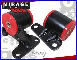 For 96 97 98 99 00 Honda Civic H22A/H23/H22 Engine Motor Mount Swap Kit H-Series