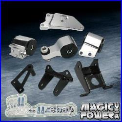 For Honda Civic 2006-2011 Si Engine Billet Replacement Motor Mount Bushing Kit