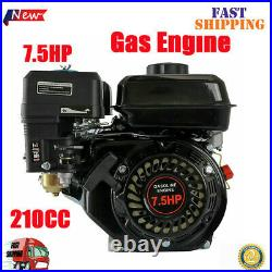 For Honda GX160 OHV Replacement Gas Engine 7.5HP 210cc Air Cooled 170F Pullstart