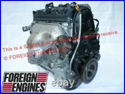 Honda Engine. 98 99 00 01 02 Accord Ex Replacement Motor For F23a1