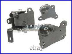 Innovative Replacement Steel Engine Motor Mounts 75A 97-01 Honda Prelude BB ALL