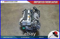 JDM 2006 2012 Honda Civic Si K24a 2.4l 200HP Replacement K20a Engine Only Dohc