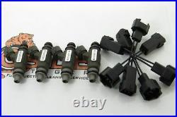 JDM Honda F20B 18-Hole Replacement Fuel Injectors MORE TORQUE! 1997-01 Engine