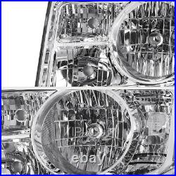 OE Style For 09-11 Honda Pilot LX EX Touring Headlights Set Left Right Headlamp