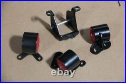 Red Swap Engine Motor Mount Honda CIVIC 96-00 Ek D15/d16 B16 B17 B20 Replacement