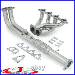 Stainless Steel 4-2-1 Exhaust Header Manifold For 1992-1996 Honda Prelude Si H23
