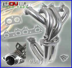 Stainless Steel 4-2-1 Exhaust Header Manifold For 1994-1997 Honda Accord F22