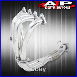 Stainless Steel 4-2-1 Exhaust Header Manifold For 1998-2002 Honda Accord F23