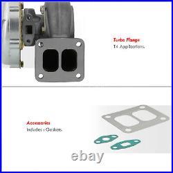 T4 T04B Balanced Turbo Charger JDM Upgrade For Supra MK3 MK4 1JZ 2JZ I6 Engine